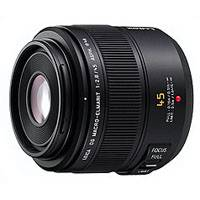 Panasonic 45mm f2.8 Lumix Leica DG Macro Elmarit Lens - Micro Four Thirds Mount  (p/n H-ES045E)