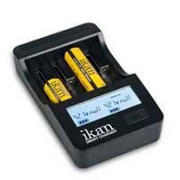 Ikan IKAN-ICH-SC4 (IKANICHSC4) 4 Battery Universal Smart LCD Charger