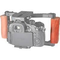 SmallRig 1738 (SR1738) Wooden Handle for DSLR Cage - Left Side