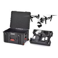 HPRC INS2730W-02 Wheeled Hard Case with Foam for DJI Inspire 1 / Pro (Int. Dimensions: 550x460x316mm)