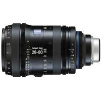 Zeiss 28-80mm T2.9 CZ.2 Compact Zoom Cine Lens - Nikon F Mount with Feet / Imperial Scale (2008-992)
