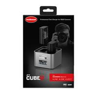 Hahnel ProCube 2 Twin Charger for Canon Li-Ion Batteries (1000 570.0)