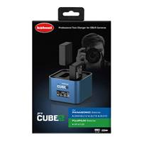 Hahnel ProCube 2 Twin Charger for Panasonic and Fuji Li-Ion Batteries (1000 573.0)