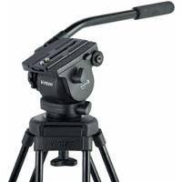 Vinten V4106-0001 (V41060001) Vision blue3 Head - 75mm ball base head with 1 fixed pan bar, camera plate and bowl clamp