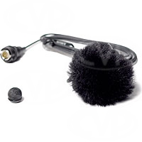 Rycote 065502 Grey Fluffy mini windjammer (windshield) for lavalier microphones (2 pack)
