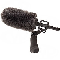 Sennheiser ME-66 Kit - Includes ME-66 (ME66) Shotgun Microphone + K6 Power Supply + Rycote Softie with Pistol Grip / Suspension