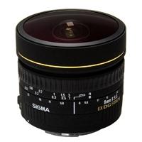 Sigma (485959) 8mm f/3.5 EX DG Circular Fisheye Lens for Nikon DSLRs (AF-D)