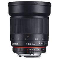 Samyang 24mm f1.4 ED AS IF UMC Wide Angle Lens - Nikon F (AE) Mount (p/n 7635)