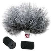 Rycote 1x Grey Windjammer for Lavalier Microphones up to 4.5mm Wide and 15mm Long (p/n 065515)