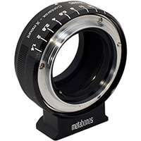 Metabones Contarex to Fuji X-mount Adapter in Black Matt (p/n MB_CX-X-BM1)