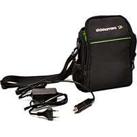 Slide Kamera AF-7 (AF7) 12V 7Ah Power Pack with Dedicated Charger and Soft Case with External Power Socket