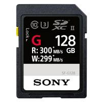 Sony SF-128G (SFG1G) 128GB SF-G Series UHS-II Class 10 SDXC Memory Card with up to 300MB/s Transfer Speed