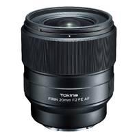 Tokina FiRIN 20mm f/2 FE AF Lens for Sony E Mount (p/n 710305.0)