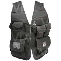Portabrace VV-XLBL (VVXLBL) - Extra-Large Video Vest / Production Jacket (46inch chest size) - Black