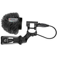 Rycote 033313 5cm Softie with large hole shock-mount and pistol grip (PG) handle