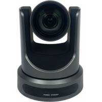 PTZOptics PT12X-SDI-GY-G2 (PT12XSDIGYG2) 1080p Broadcast and Conference Camera with 12X Optical Zoom, 3G-SDI, HDMI, CVBS, IP Streaming and 72.5 Degree Wide Angle Lens (G Style Power Supply) - Grey