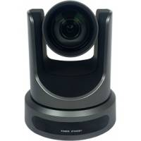 PTZOptics PT12X-USB-GY-G2 (PT12XUSBGYG2) 1080p Broadcast and Conference Camera with 12X Optical Zoom, USB 3.0, IP Network RJ45, HDMI, CVBS and 72.5 Degree Wide Angle Lens (G Style Power Supply) -Grey