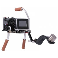 Vocas Pro Handheld Kit for Blackmagic Cinema Camera (setup 1) - includes handgrip kit, high bracket, rail support, topside handgrip, shoulder support, weight + attachment plate- 0255-3320 (025533