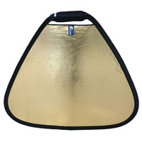 Lastolite Trigrip 75cm (30inch) Gold / White Reflector (p/n LL LR3641)