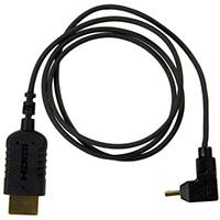 Freefly 910-00088 (91000088) Right Angle Mini HDMI to Full Size HDMI Cable (70cm)