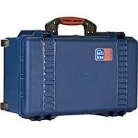 Portabrace PB-2550DSLR (PB2550DSLR) Water and Airtight, Carry-on Size Hard Case Including a DSLR Divider System (Internal Dimensions 43.18 x 22.23 x 15.24 cm)