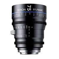 Schneider Kreuznach (SKFF75PLF) 75mm T2.1 Xenon FF-Prime Cine Lens - PL Mount (FT)