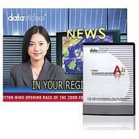 Datavideo DATA-CG100 (CG-100) Live Character Generator Software