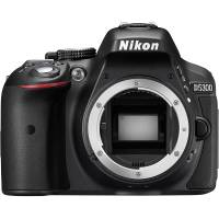 Nikon D5300 24.2MP Digital SLR Camera with a DX-Format CMOS Sensor Body Only (p/n VBA370AE)
