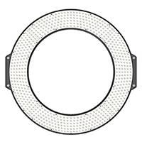 F&V R720 (R-720) Lumic Daylight LED Ring Light (p/n 11815002)