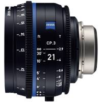 Zeiss CP.3 21mm T/2.9 Compact Prime Cine Lens - MFT Mount | Available in Feet or Metre Scale (2183-069 / 2183-063)