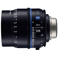 Zeiss CP.3 135mm T/2.1 Compact Prime Cine Lens - EF Mount | Available in Feet or Metre Scale (2184-953 / 2184-934)