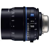 Zeiss CP.3 100mm T/2.1 Compact Prime Cine Lens - PL Mount | Available in Feet or Metre Scale (2185-146 / 2185-127)