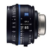 Zeiss CP.3 85mm T/2.1 Compact Prime Cine Lens - PL Mount | Available in Feet or Metre Scale (2178-038 / 2178-033)