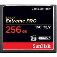 SanDisk SDCFXPS-256G-X46 (SDCFXPS256GX46) 256GB 160MB/s Extreme Pro CompactFlash Memory Card
