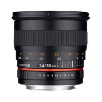 Samyang 50mm f1.4 AS UMC Lens - Canon M Mount (p/n 7486)