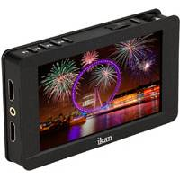 Ikan DH5e-DK-S (DH5eDKS) 5 Inch 4K Supporting HDMI On-Camera Monitor - Deluxe Kit for Sony L Series Battery Plate