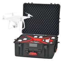 HPRC PHA4-2710-01 Resin Case for DJI Phantom 4 Quadcopter - Black (HPRC2710) Internal Dimensions: 555x459x256mm
