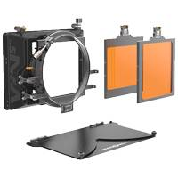 Bright Tangerine VIV 2-Stage Kit with 5inx5in and 4x5.65 Filter Trays, Carbon Fiber Top Flag and 2-Stage Matte Box (p/n B1210.0012)