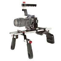 Shape ALPSM - Shoulder Mount for Sony Alpha A7S MkII - A7R MkII - A7 MkII with 15mm Rods and Adjustable Top Handle (ALP-SM)