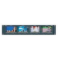 Oxygen OxRMS4342-HSC (OxRMS4342HSC) Super Rack 4.3 inch Quad LCD Multi-purpose monitor with auto sensing HD-SDI / SD-SDI / Composite input