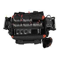 Portabrace AO-1XB (AO1XB) Audio Organizer Case for Shure FP24, FP32A, FP33 & Sound Devices 302, 702, 702T, 722, 744T (black)