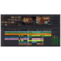 Blackmagic Design DaVinci Resolve Editing and Colour Correction Software (p/n BMD-DV/RESSTUD)