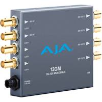 AJA 12GM (12-GM) 12G-SDI to/from SDI Muxer/DeMuxer