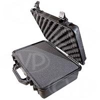 Peli Products 1500 Waterproof Flight Case with Foam (Pelican, Pelicase) (Internal Dimensions: W 43.5 cm x D 29.2 cm x H 15.5 cm)