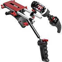 Zacuto Z-SF5TRL (ZSF5TRL) Tornado Recoil Shoulder Mounted Rig with Follow Focus for the Sony F5 and F55 Video Cameras