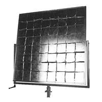 Matthews 119732 Standard 42 inch x 42 inch Reflector with Yoke Brake - Silver / Ship Crate included