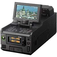 Sony PMW-RX50 (PMWRX50) Dual SxS PRO Portable Recording Deck for XAVC Camcorders