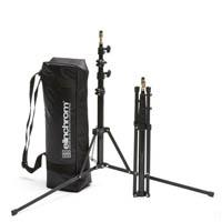 Elinchrom EL31050 Location Tripod Stand Set - 2x 52-190cm stands with bag (EL-31050)