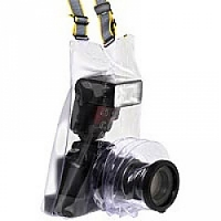 Ewa-Marine C-AFX (CAFX) SLR Camera Raincape - made to fit all SLR cameras (digital and analog) with zoom lenses and a top mounted flash