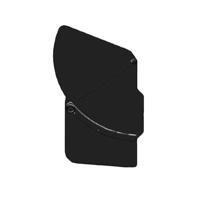 Movcam (301-0205-07) Left Flag for the MM-5 MatteBox